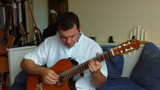 Killing Me Softly / hybrid 6 strings bass/guitar (Roberta Flack) personal adaptation