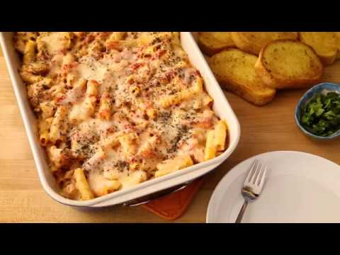 How to Make Baked Ziti with Sausage | Pasta Recipes | Allrecipes.com