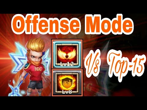 Flameguard Michael Vs Top-15 || Skill 12/12 || 8/8 FG || Mike || All Maxed Hero || Castle Clash