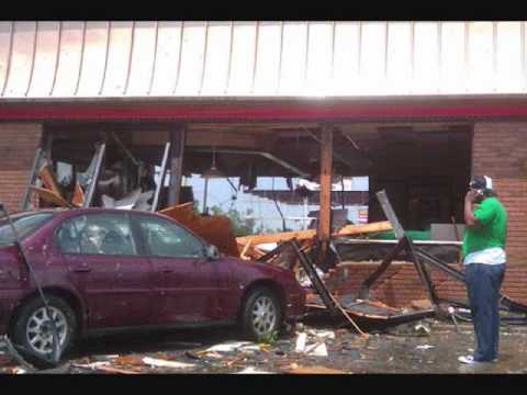YAZOO CITY, MS AFTER THE STROM