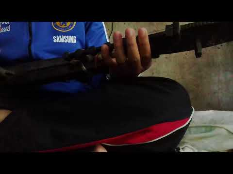 Kecapi traditional music instrument south sulawesi