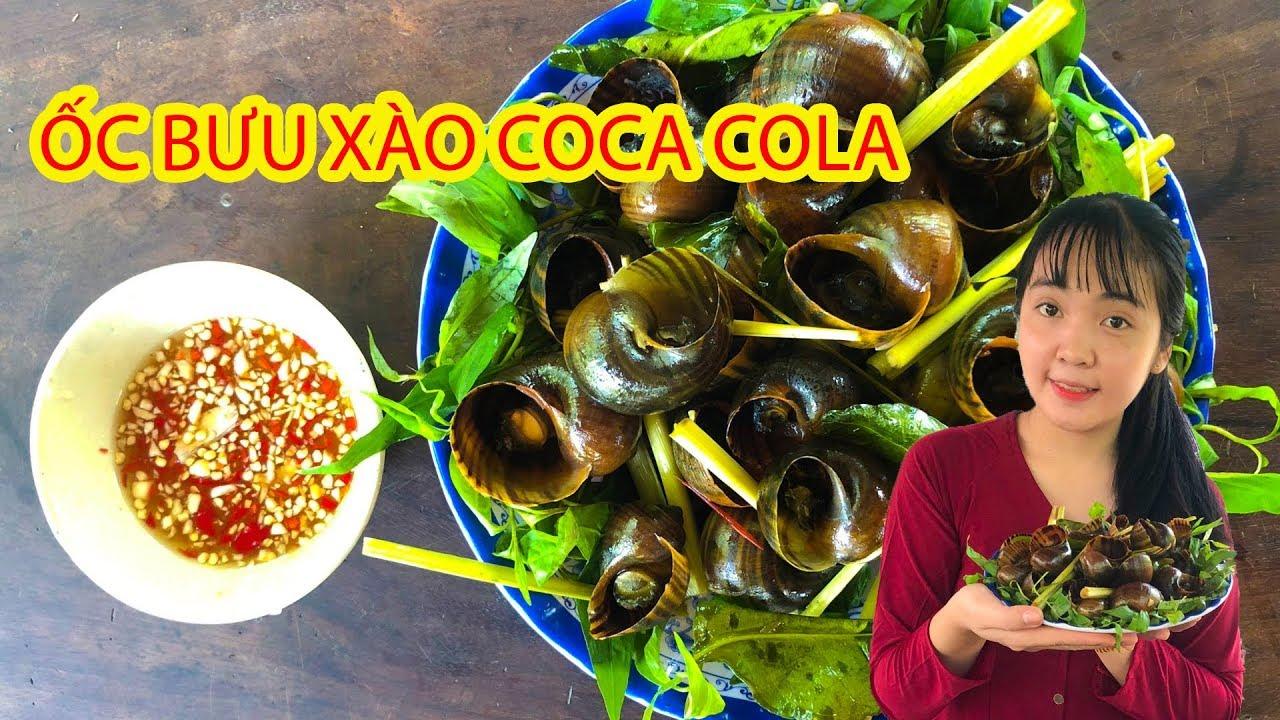 Thử làm Ốc xào với coca cola  sẽ NTN – Huỳnh Như Vlogs