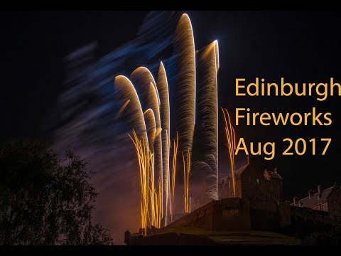 Edinburgh Festival Fireworks 2017