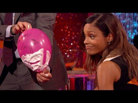 Naomie Harris's cut throat razor skills - The Graham Norton Show: Series 18 Episode 5 - BBC One