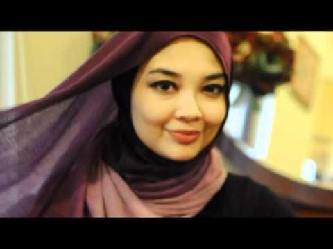 3rd Tutorial Pashmina Shawl Abiya Muslimah