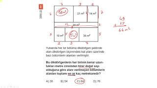 8. Sınıf Matematik - Çarpanlar ve Katlar Çıkmış Sorular ve Örnek Sorular