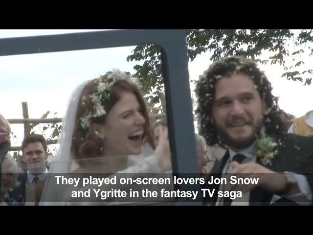 Game of Thrones wedding for stars Kit Harrington and Rose Leslie