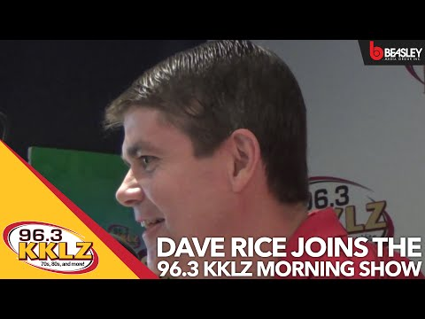 Dave Rice on the KKLZ Morning Show