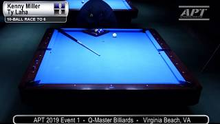 2019 Event 1: Kenny Miller vs Ty Laha