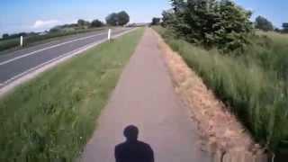 bike ride from Broager to Sønderborg