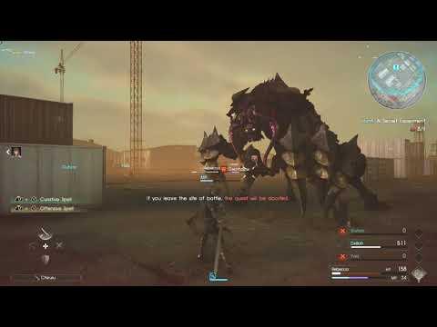 Final Fantasy XV: Comrades - Urgent Mission #5: A Secret Experiment