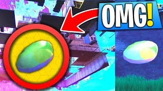 TILTED TOWERS METEOR EGG FOUND UNDER THE MAP! (NEW Fortnite Glitch)
