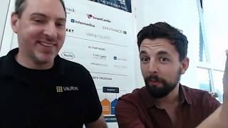 Joshua Scigala & Max Hillebrand discuss the projects being made @ #lightning hack day in Munich