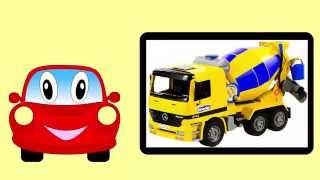 Construction Equipment For Children – Mighty Machines – Backhoe Bulldozer Excavator Wheel Loader