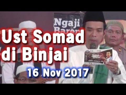 Jamaah Di Binjai Medan Tak Berhenti Tertawa Lihat Ceramah Terbaru Ustad Abdul Somad 16 November 2017