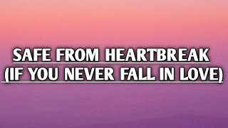 Wolf Alice - Safe from Heartbreak [If You Never Fall in Love] (Lyrics)
