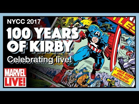 Celebrating 100 Years of Jack Kirby: The King's New York - NYCC 2017
