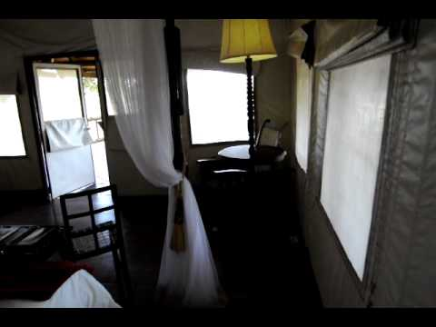 Our Suite at Eagle Island Camp by Orient Express