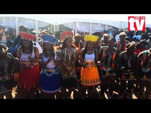 At the wedding of Malusi Gigaba to Nomachule Mngoma