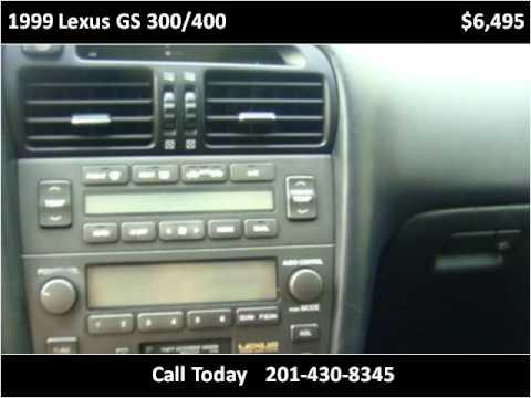1999 Lexus GS 300/400 Used Cars North Bergen NJ
