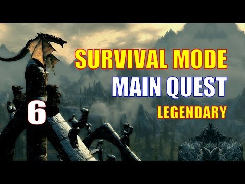 Skyrim Survival Mode Walkthrough MAIN QUEST #6, New Business Gear & Breezehome Renovations