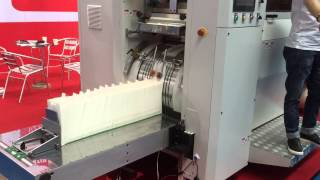 RZ-350 Paper Bag Making Machine (Guangzhou Bakery Exhibition 2015-05-29)Our Core product
