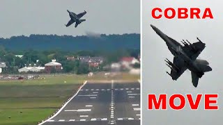 "Wicked F-18 Flying. "" Near Cobra Manoeuvre """