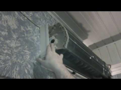 Чистка домашнего кондиционера своими руками