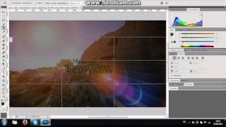Как сделать шапку для канала в (Photoshop-CS5)-Для начинающих