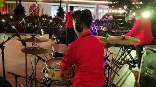 Marion Jola - Kangen (dewa 19) cover drum cam at central park 5/2/2019 MP3