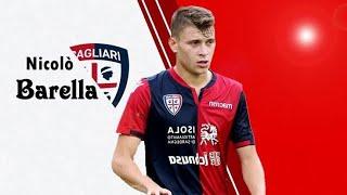 Nicolo Barella - Cagliari Midfield Maestro ⚽ • Goals Assists And Skills•