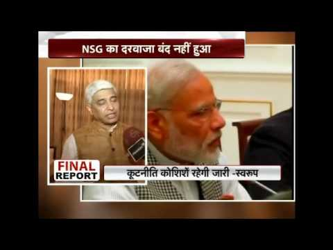 Final Report talks about the membership of India in Nuclear Suppliers Group