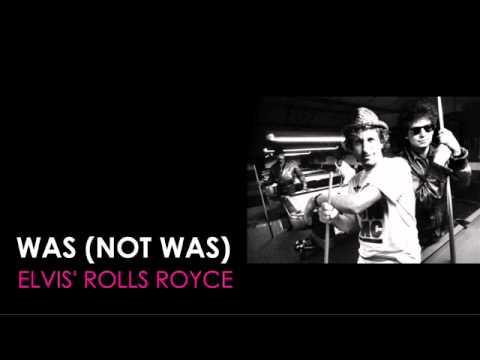 WAS (NOT WAS)  featuring Leonard Cohen  'Elvis' Rolls Royce'  1990