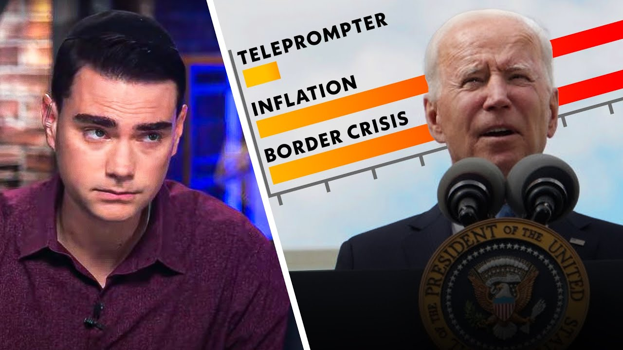 Biden Struggles To Read The Teleprompter As Inflation SKYROCKETS