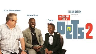 KID MEETS KEVIN HART AND ERIC STONESTREET | THE SECRET LIFE OF PETS 2