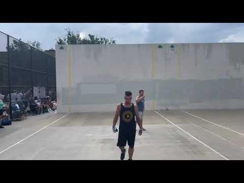 IS 10 - Impact Open Singles  Rick vs PeeWee - Filmed By Handball United - 7.10.2021 |