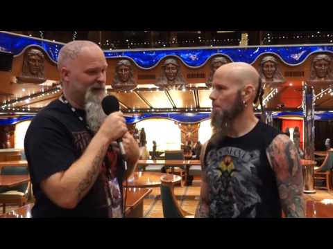 ROCKwell UnScene  Interview w/ CJ Drowning Pool - Shiprocked 2017