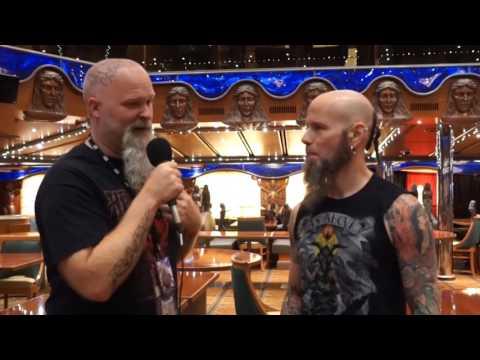 ROCKwell UnScene  Interview w/ CJ Drowning Pool - Shiprocked 2017