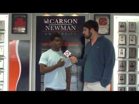 Carson-Newman Men's Soccer: C.J. Walker Interview 4-6-15