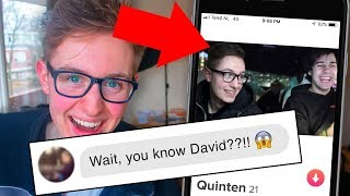 I Faked Being FAMOUS on Tinder for a Whole Week! (Photoshopping My Tinder)