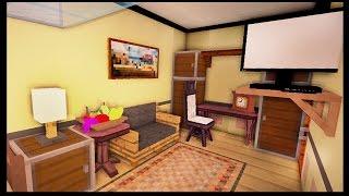 Детская комната и спальня - Серия 18.5 - Minecraft - Строительный креатив 2