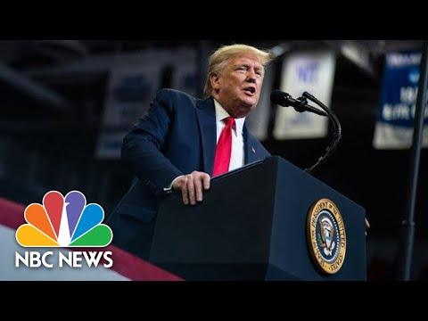 President Donald Trump Predicts Win Over Democrats In 2020 Election | NBC News