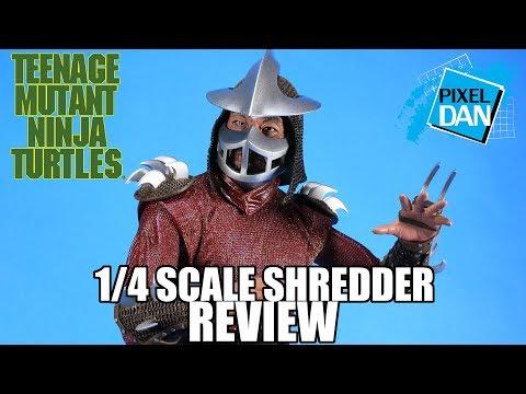 Shredder Teenage Mutant Ninja Turtles NECA Toys 1/4 Scale Figure Review