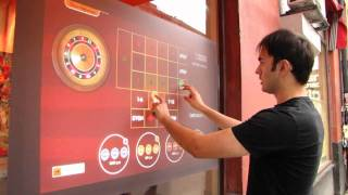 Touchtech Multi-Touch Casino Games
