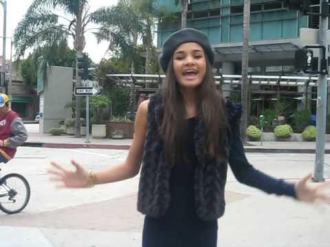 Teenage singer, Pia Mia  Complicated  Rihanna 14 yrs old