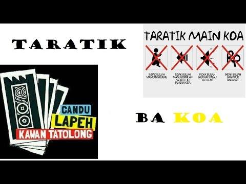 LAWAK MINANG 1# TARATIK BA KOA
