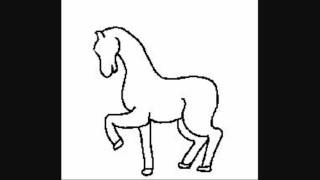 unicorn simple draw clipart library coloring pages