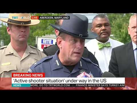 Suspect in Maryland shooting in custody: Harford County sheriff