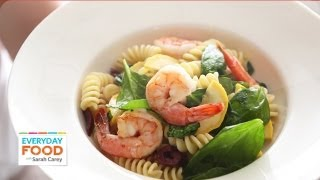 Summer Pasta Salad With Shrimp - Everyday Food With Sarah Carey