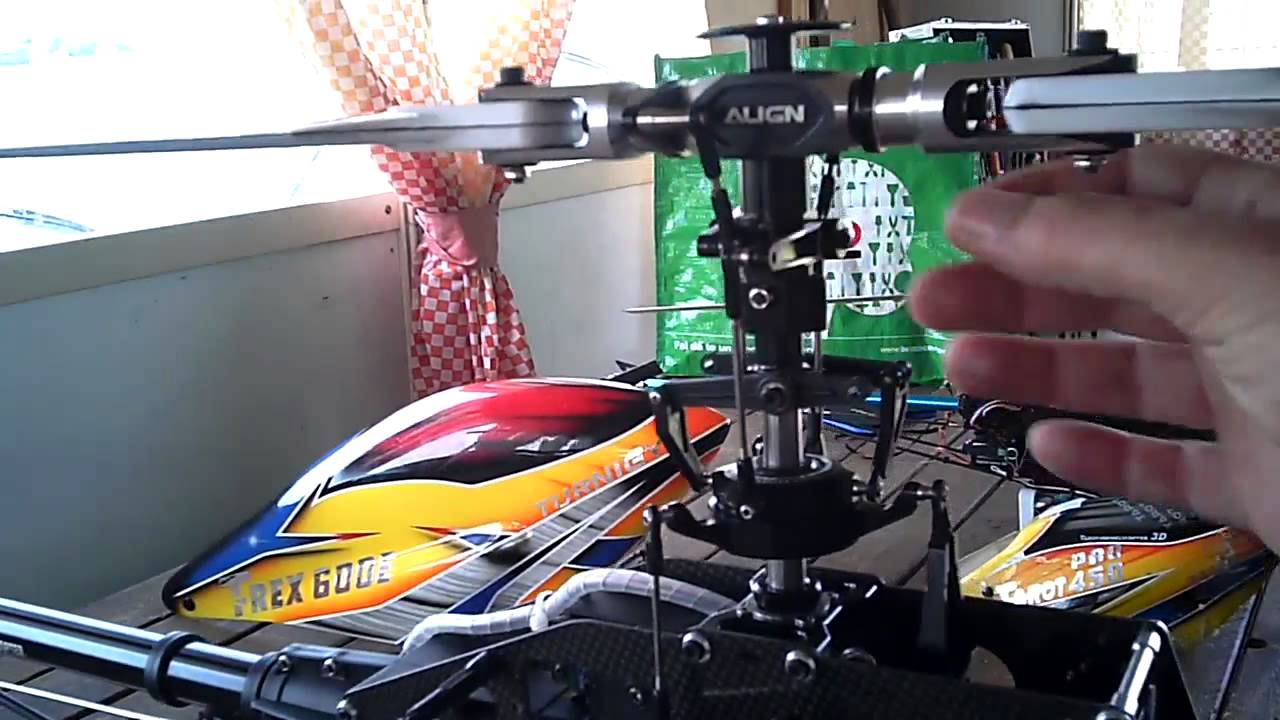 Elicottero 450 : Modifica flybarless trex 600 esp flybar to flybarless low cost youtube